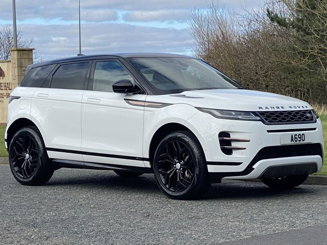 USED 2019 19 LAND ROVER RANGE ROVER EVOQUE 2.0 R-DYNAMIC SE 5d 180 BHP AUTO 4WD Pan Roof Black Pack Leather