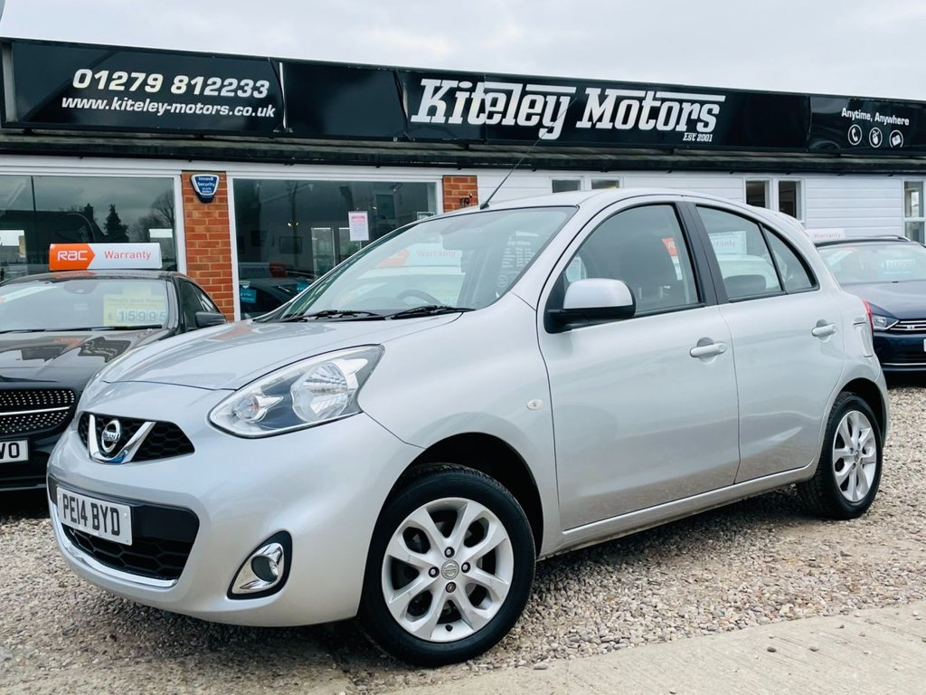 USED 2014 14 NISSAN MICRA 1.2 ACENTA AUTOMATIC