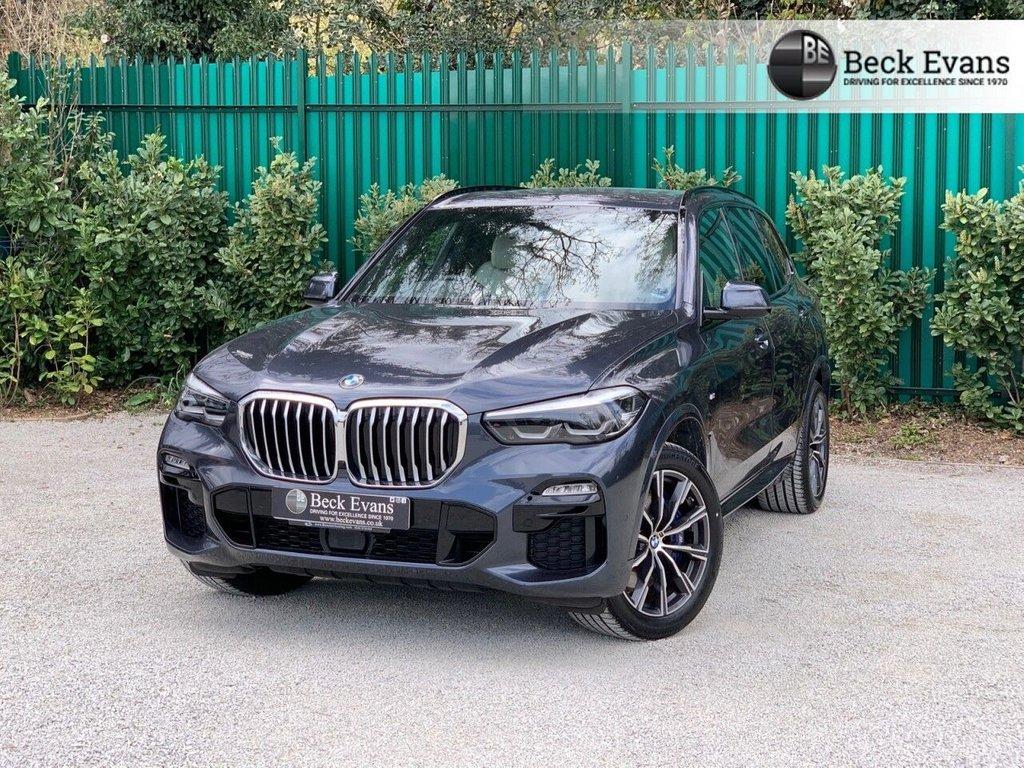 USED 2019 69 BMW X5 3.0 XDRIVE30D M SPORT 5d 261 BHP VAT QUALIFYING