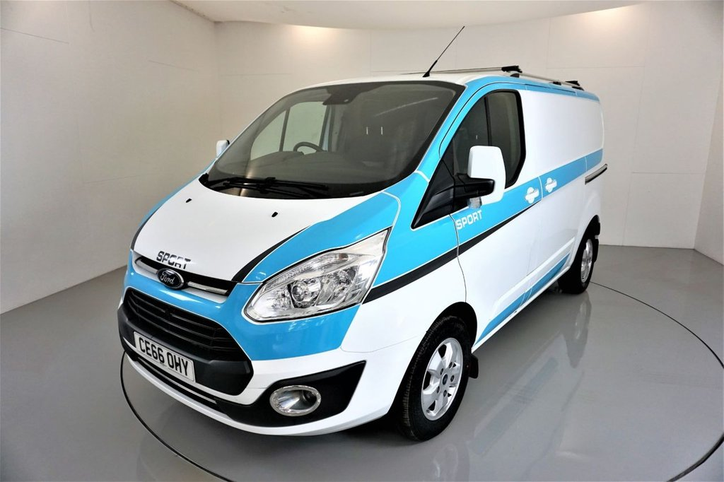 USED 2016 66 FORD TRANSIT CUSTOM 2.0 270 LIMITED LR P/V 129 BHP-1 OWNER-LOW MILEAGE EXAMPLE-BLUETOOTH-REAR PARKING SENSORS-AIR CONDITIONING-ELECTRIC FOLDING MIRRORS