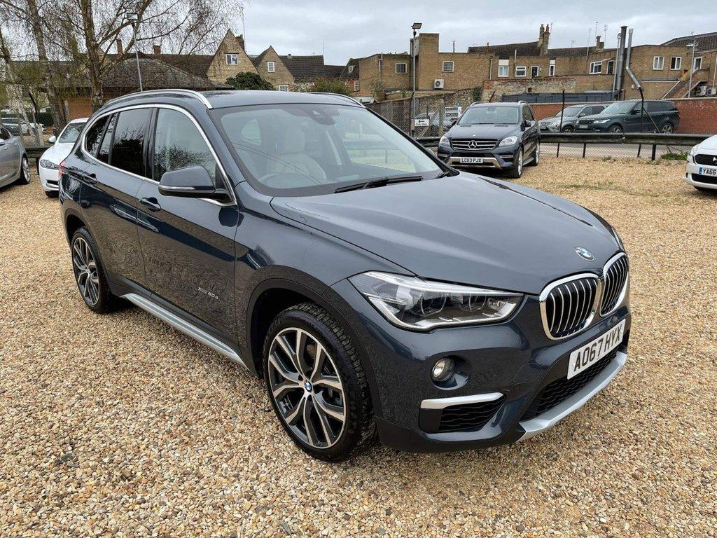USED 2017 67 BMW X1 2.0 20d xLine Auto xDrive (s/s) 5dr 19' Alloys Sat Nav, Power Boot