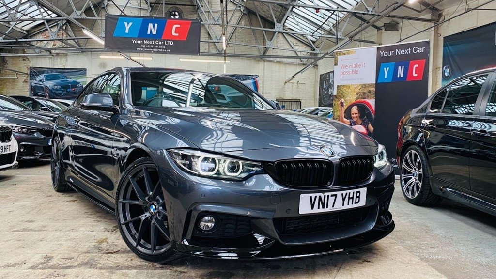 USED 2017 17 BMW 4 SERIES 2.0 420d M Sport Auto 2dr PERFORMANCEKIT+20S+FACELIFT