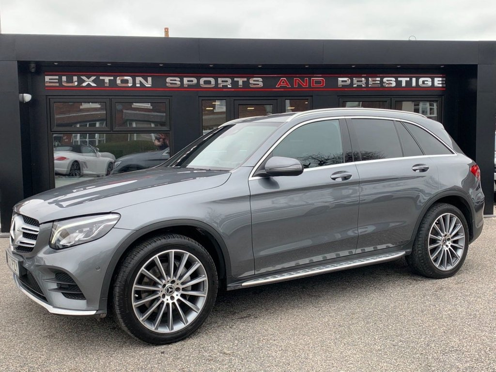 USED 2018 67 MERCEDES-BENZ GLC-CLASS 2.1 GLC220d AMG Line G-Tronic 4MATIC (s/s) 5dr FULL MERCEDES SERVICE HISTORY