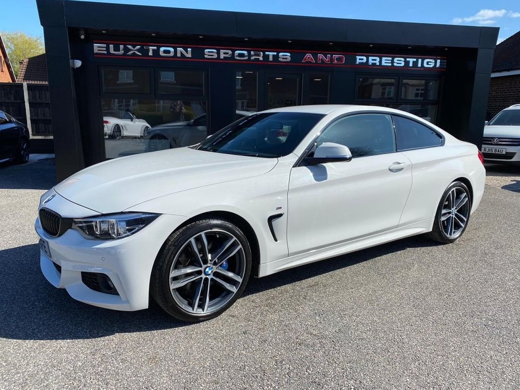 USED 2018 18 BMW 4 SERIES 2.0 420i M Sport Auto (s/s) 2dr £3910 OF EXTRAS
