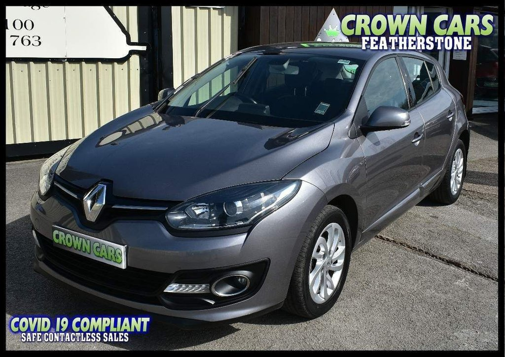 USED 2014 64 RENAULT MEGANE 1.5 dCi ENERGY Dynamique TomTom (s/s) 5dr AMAZING VALUE