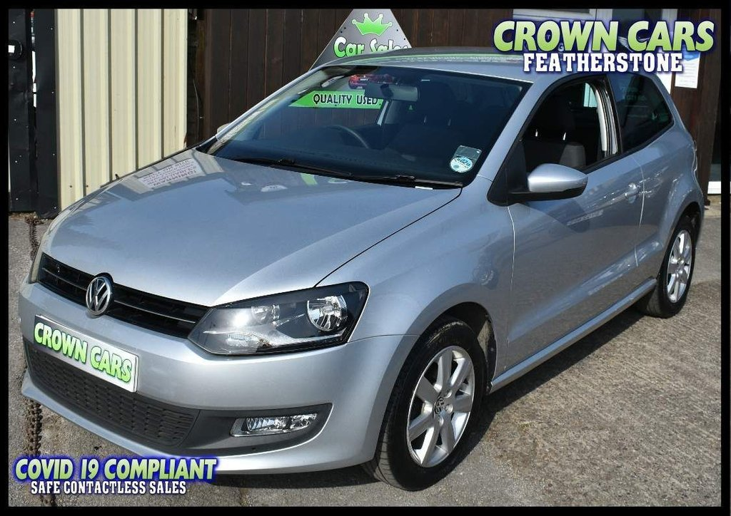 USED 2012 12 VOLKSWAGEN POLO 1.4 Match 3dr ONE OWNER WITH FULL HISTORY