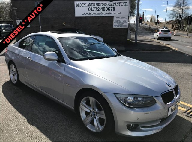 USED 2011 61 BMW 3 SERIES  320D SE COUPE AUTOMATIC 2DR 181 BHP
