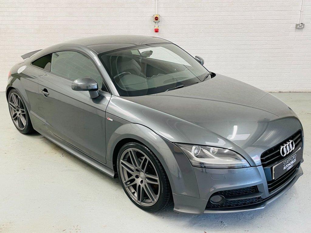 USED 2012 12 AUDI TT 2.0 TFSI BLACK EDITION 2d 208 BHP HEATED SEATS, BOSE, 19IN ALLOYS, FINANCE AVAILABLE