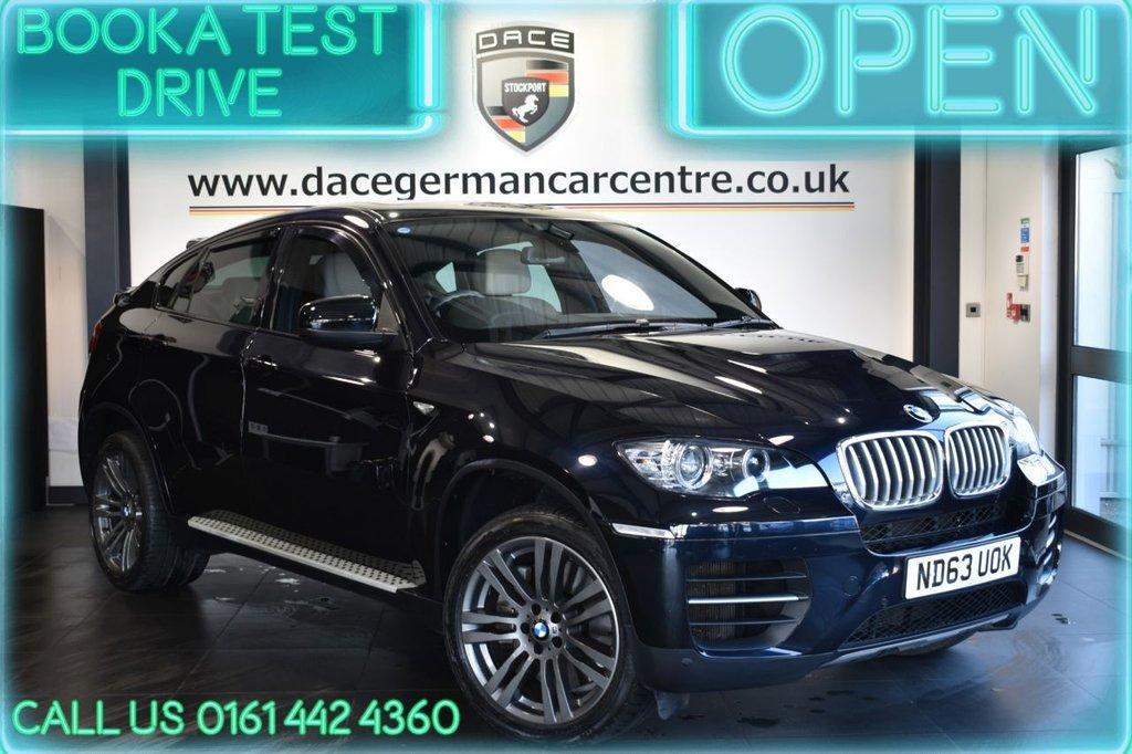 USED 2014 63 BMW X6 3.0 M50D 4DR AUTO 376 BHP