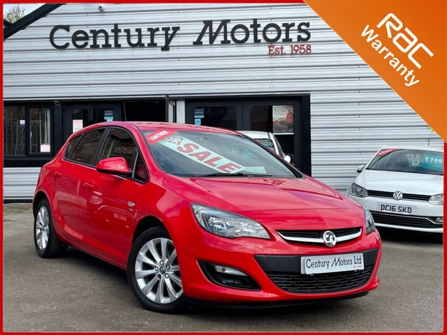 2012 62 VAUXHALL ASTRA 1.4 Active 5dr - ALLOYS