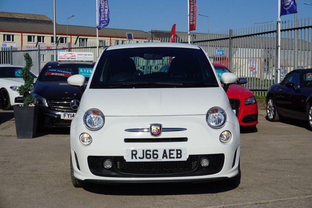 USED 2016 66 ABARTH 500 1.4 595 3d 138 BHP JUST ARRIVED STUNNING 595 ABARTH