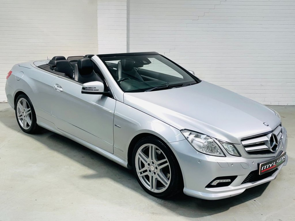 USED 2011 61 MERCEDES-BENZ E-CLASS 2.1 E250 CDI BLUEEFFICIENCY SPORT ED125 2d 204 BHP DUE IN.. Edition 125 Spec, Black Leather Interior, Heated Seats
