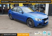 "USED 2016 66 BMW 3 SERIES 3.0 335D XDRIVE M SPORT 4d 308 BHP SAT/NAV, LEATHER, DAB, BLUETOOTH, TINTED GLASS,  SPORTS KIT, 20"" DIAMOND CUT ALLOYS...."