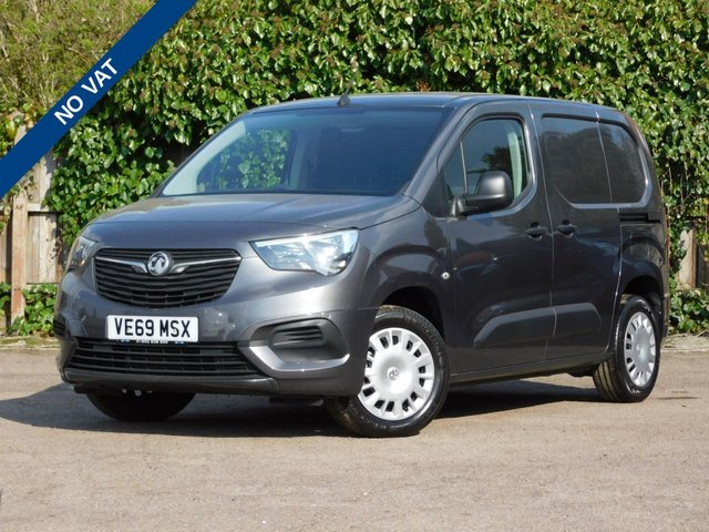 USED 2019 69 VAUXHALL COMBO 1.5 L1H1 2000 SPORTIVE S/S 101 BHP NO VAT+Aircon+Bluetooth+DAB