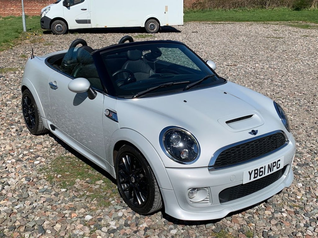 USED 2012 61 MINI ROADSTER 1.6 COOPER S 2d 181 BHP Free Next Day Nationwide Delivery