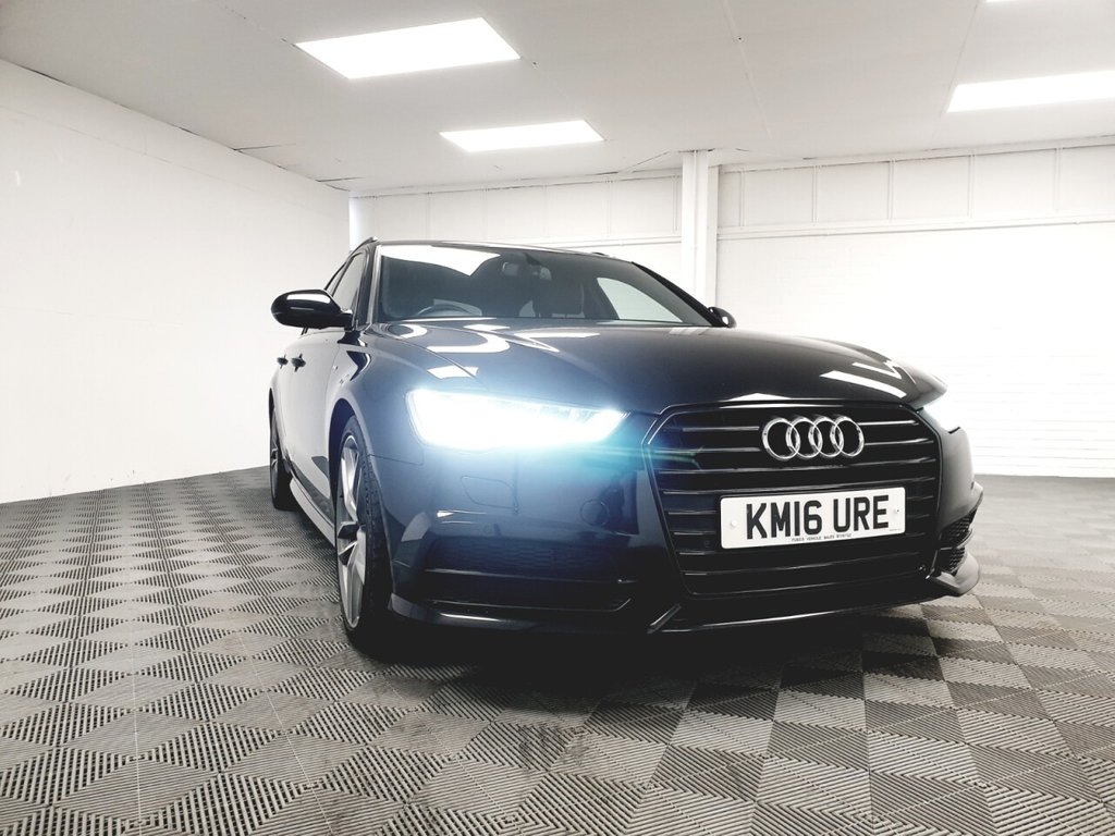 USED 2016 16 AUDI A6 2.0 AVANT TDI ULTRA BLACK EDITION 5d 188 BHP NATIONWIDE DELIVERY AVAILABLE!