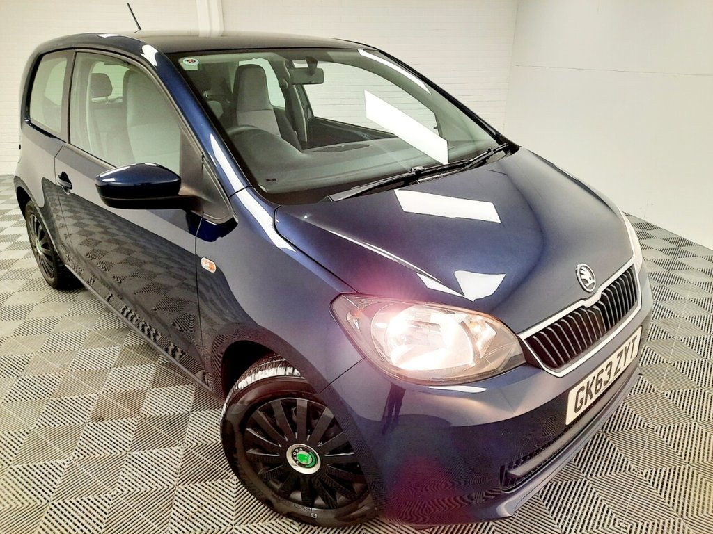 USED 2014 63 SKODA CITIGO 1.0 SE GREENTECH 3d 59 BHP NATIONWIDE DELIVERY AVAILABLE!