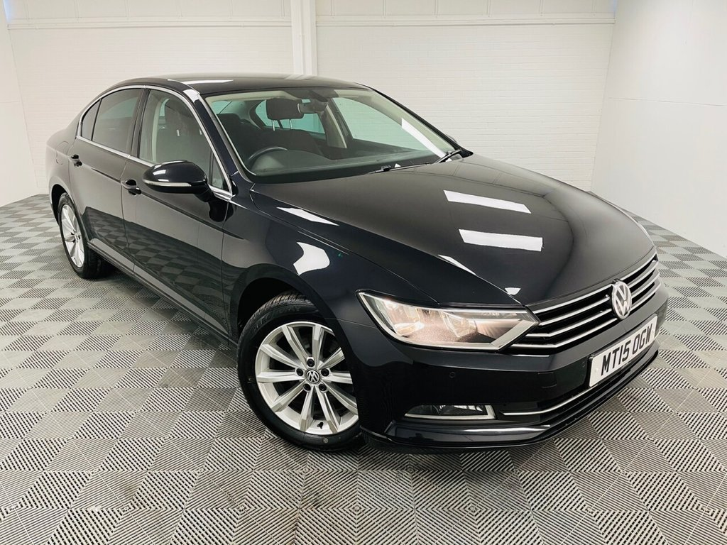USED 2015 15 VOLKSWAGEN PASSAT 1.6 SE BUSINESS TDI BLUEMOTION TECHNOLOGY 4d 119 BHP NATIONWIDE DELIVERY AVAILABLE!