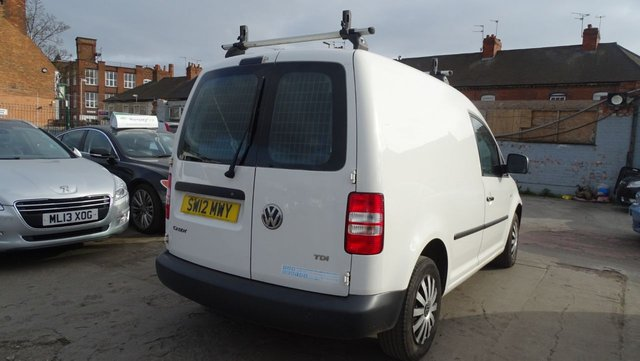 USED 2012 12 VOLKSWAGEN CADDY 1.6 C20 TDI 75 VERY CLEAN ALL ROUND