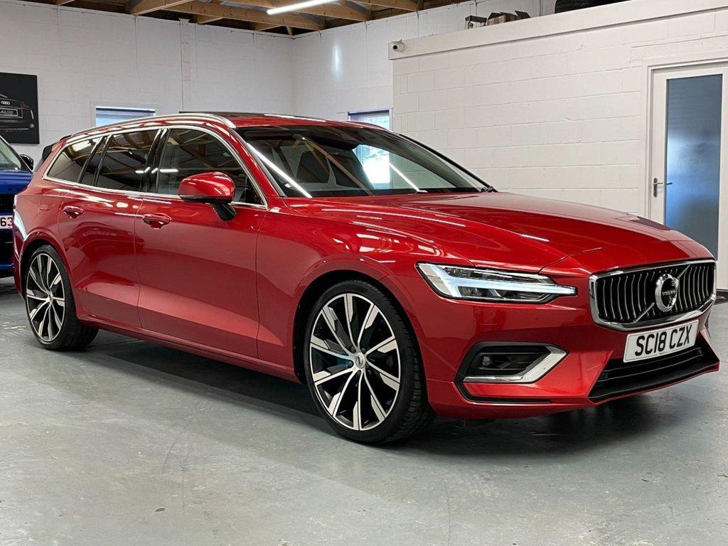 USED 2018 18 VOLVO V60 2.0 D4 Inscription Pro Auto (s/s) 5dr