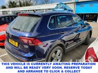 USED 2016 66 VOLKSWAGEN TIGUAN 2.0 SEL TDI BMT 4MOTION 5d 5 Seat Family SUV 4x4 In a Stunning Colour Combination Massive High Spec inc Panoramice Sunroof Heated Leather Seats Sat Nav and much more