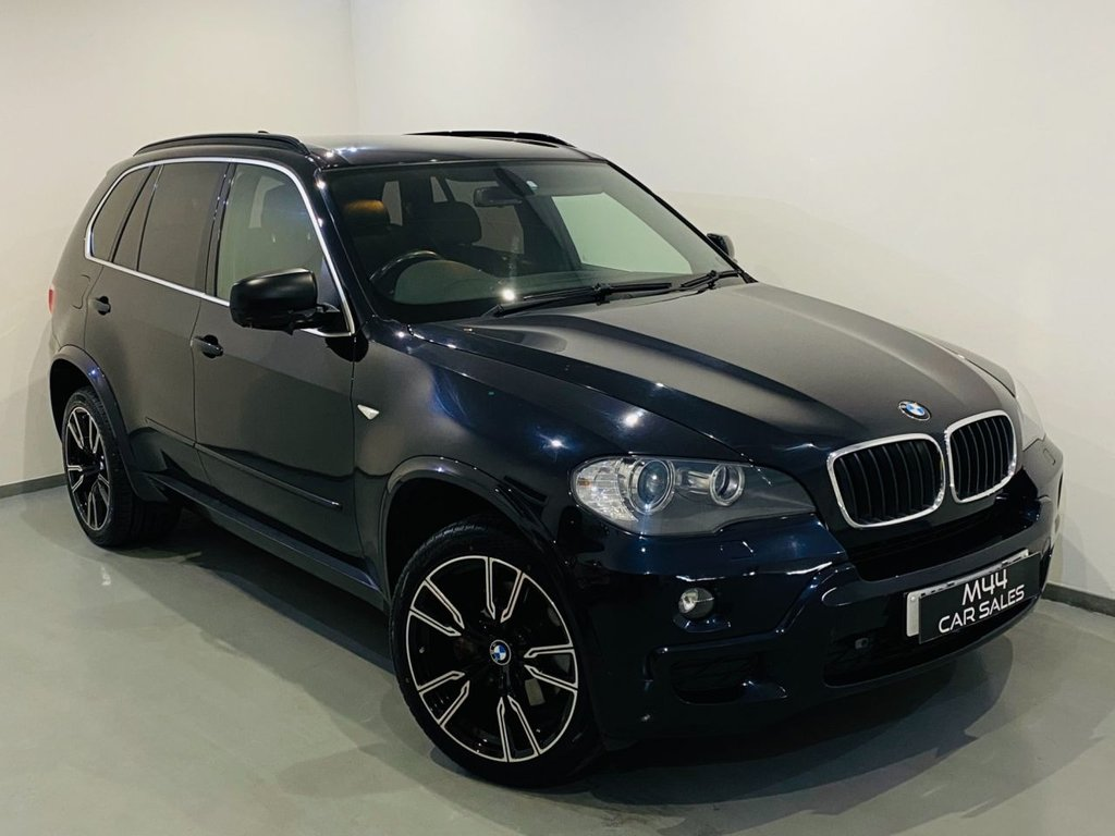 """USED 2009 59 BMW X5 3.0 XDRIVE30D M SPORT 5d 232 BHP 7 Seater/ Bluetooth/ 20"""" Alloy Wheels/ Cruise Control/ Heated Front Seats"""