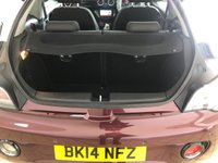 USED 2014 14 VAUXHALL ADAM 1.4 GLAM S/S 3d 98 BHP Spec including Rear Parking Sensors Bluetooth USB/Ipod interface Fixed Panoramic Roof Recent Service & MOT New Battery Now Ready to Drive Away Today Fantastic First Car or Run Around!