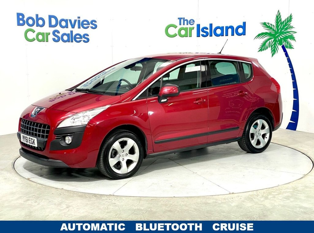 USED 2012 61 PEUGEOT 3008 1.6 ACTIVE E-HDI FAP 5d 112 BHP Full Electrics Low Mileage 60000 miles AUTOMATIC