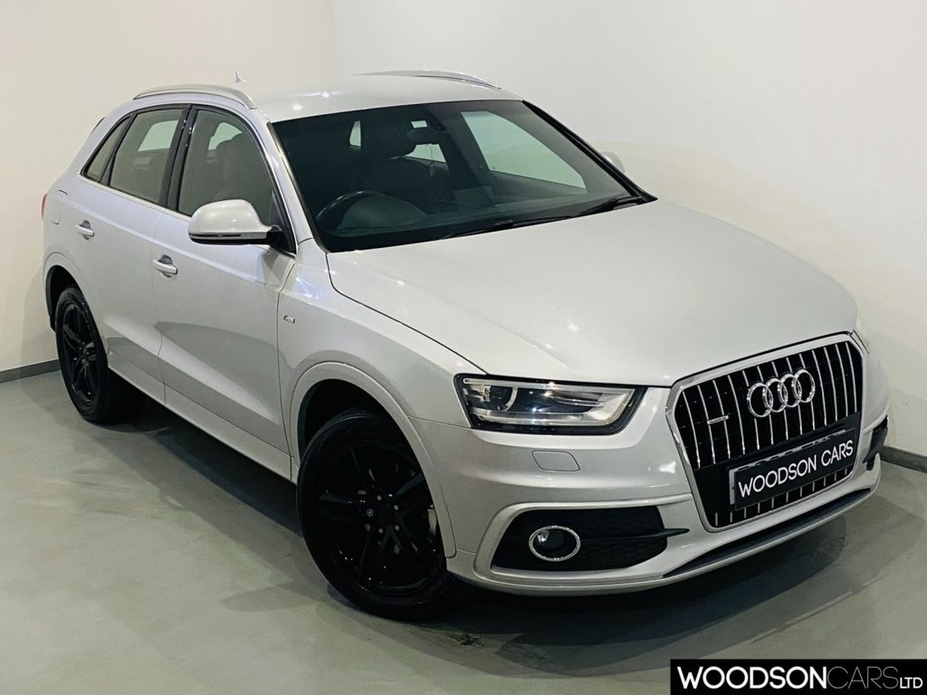 USED 2013 63 AUDI Q3 2.0 TDI QUATTRO S LINE 5d 138 BHP Timing Belt at 82k / Bluetooth / Auto Lights / Xenon Lights / Isofix