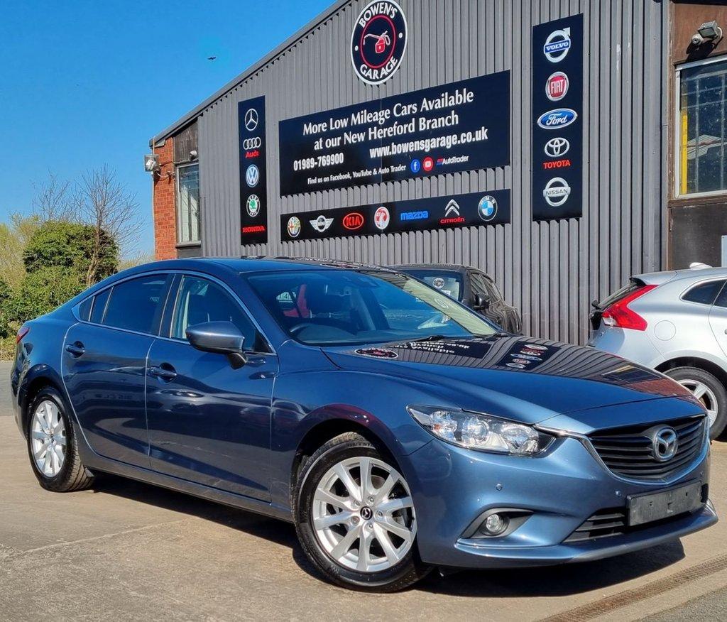 USED 2014 64 MAZDA 6 2.0 SE-L NAV 4D 143 BHP Demo +1 Owner - Low Miles - 7 Mazda Services