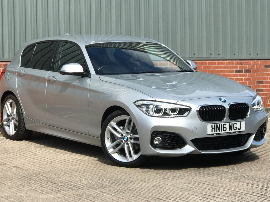 USED 2016 16 BMW 1 SERIES 1.5 118I M SPORT 5d 134 BHP EXCELLENT LOW MILEAGE EXAMPLE