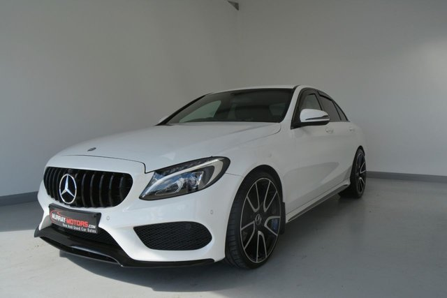 USED 2016 MERCEDES-BENZ C-CLASS C200 D AMG LINE C63 Styling Kit
