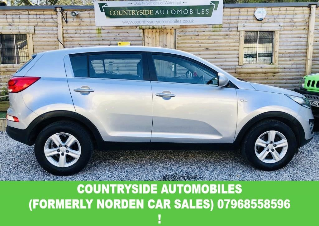 USED 2014 14 KIA SPORTAGE 1.7 CRDI 1 5d 114 BHP Here we have a stunning example of the multi award winning Kia Sportage finished in the most desirable colour with contrasting interior, good specification with Bluetooth, Cruise control, Alloy wheels. This one has a full service history with 3 out of the 5 services being done at main agent.  This car will come with our 30 month Nationwide warranty, will have a full service prior to delivery and a brand new MOT.