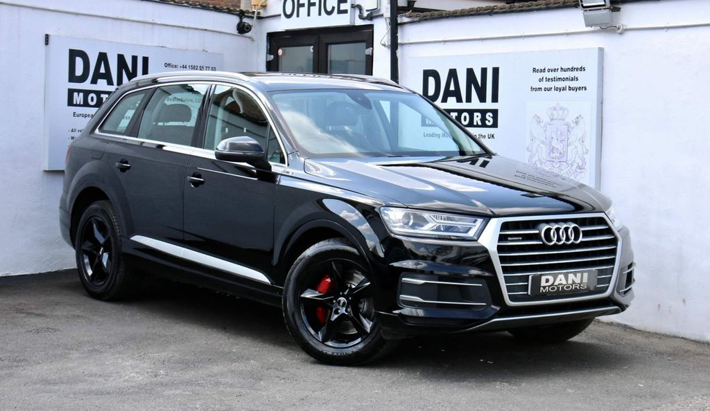 USED 2016 66 AUDI Q7 3.0 TDI V6 SE Tiptronic quattro (s/s) 5dr 1 OWNER*SATNAV*APPLE PLAY