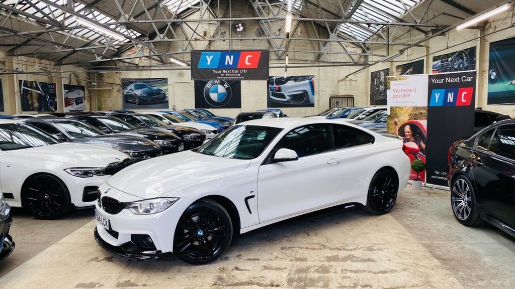 USED 2014 64 BMW 4 SERIES 2.0 420d M Sport xDrive 2dr PERFORMANCEKIT+XDRIVE+19S