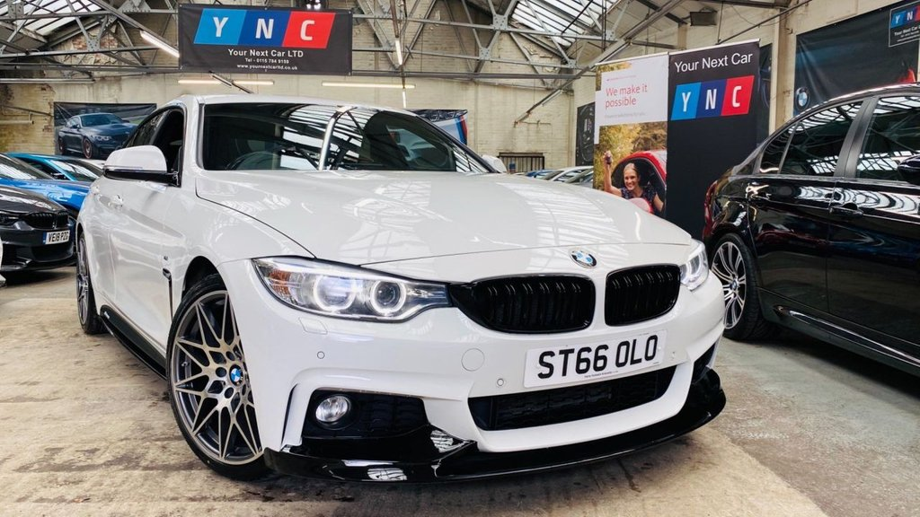 USED 2016 66 BMW 4 SERIES 2.0 420d M Sport Gran Coupe Auto (s/s) 5dr PERFORMANCEKIT+REVCAM+PLUSPACK