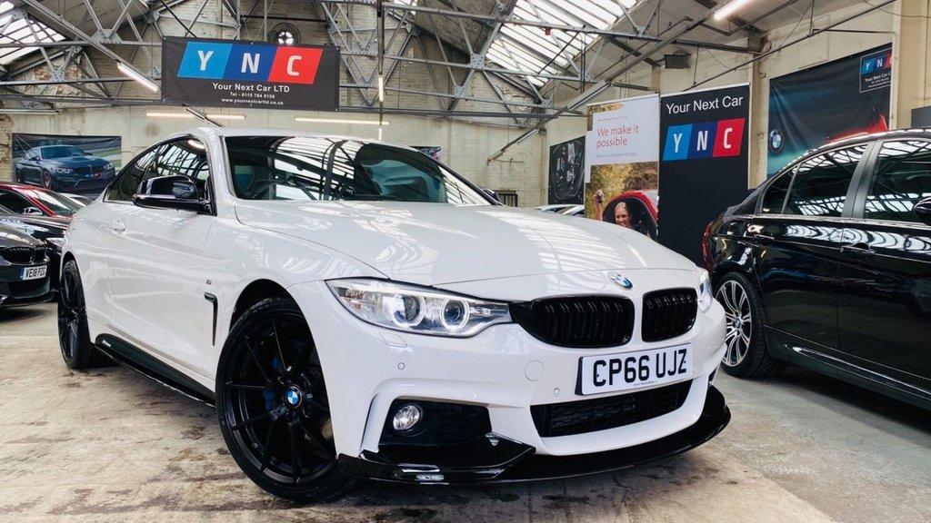 USED 2016 66 BMW 4 SERIES 2.0 420d M Sport Auto xDrive 2dr PERFORMANCEKIT+XDRIVE+PLUSPACK