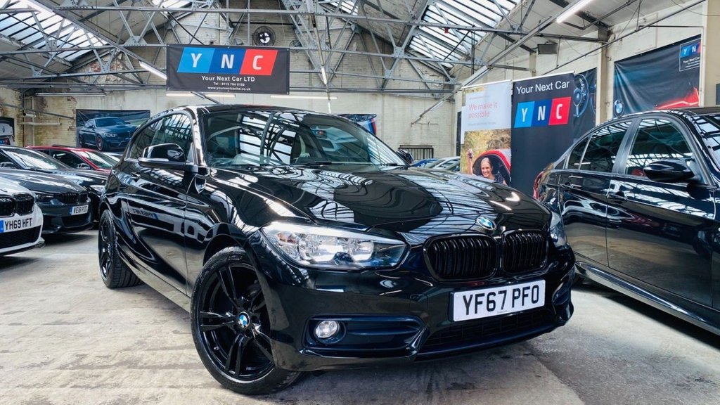 USED 2017 67 BMW 1 SERIES 1.5 118i Sport Sports Hatch (s/s) 3dr YNCSTYLING+18MSPORTALLOYS+DAB