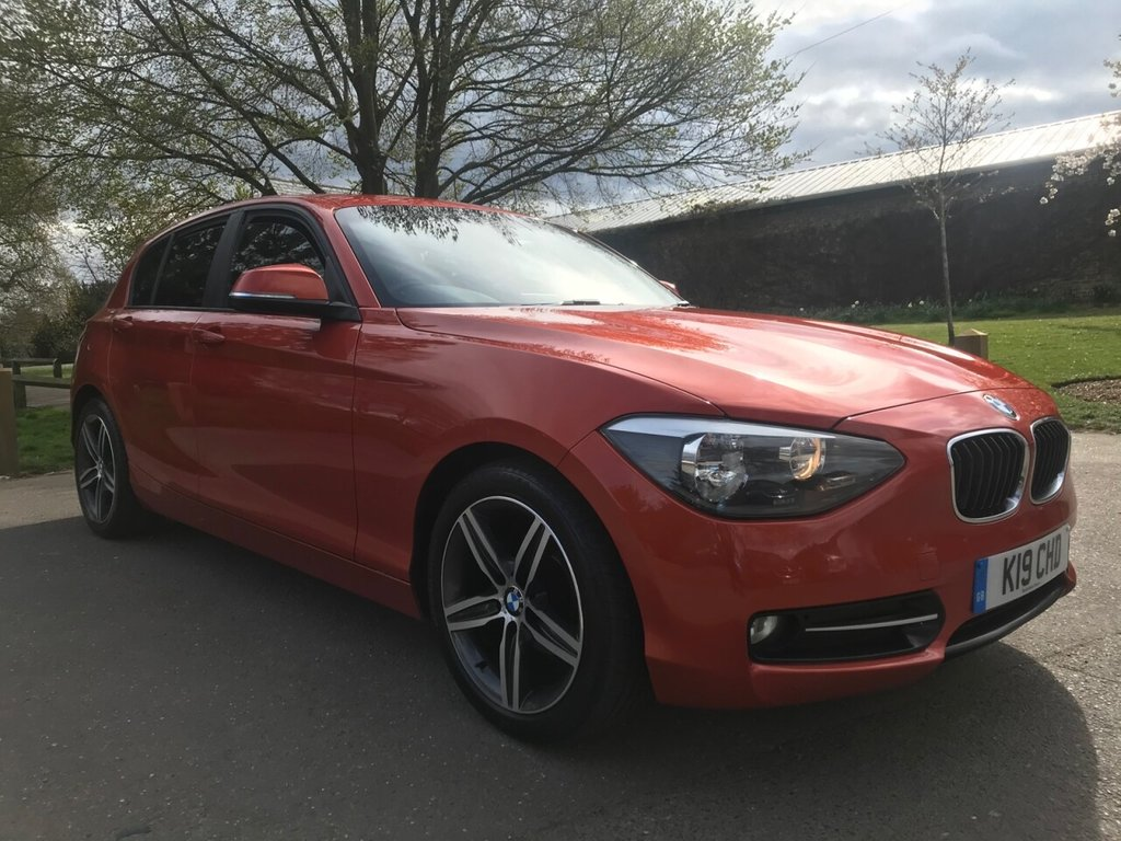 USED 2012 K BMW 1 SERIES 1.6 116I SPORT 5d 135 BHP Low Insurance Group, Low Mileage And Full Service History