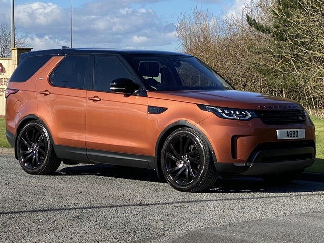 USED 2017 17 LAND ROVER DISCOVERY 3.0 TD6 FIRST EDITION 5d 255 BHP Stealth Pack Edition
