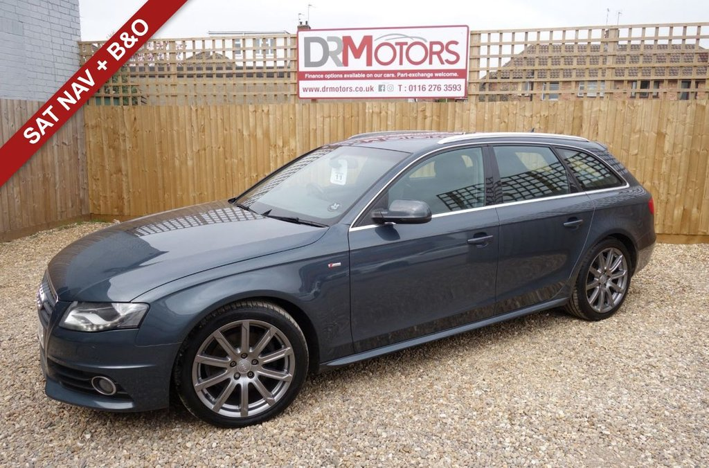 USED 2010 10 AUDI A4 2.0 AVANT TDI S LINE SPECIAL EDITION 5d 141 BHP *** 6 MONTHS NATIONWIDE GOLD WARRANTY ***
