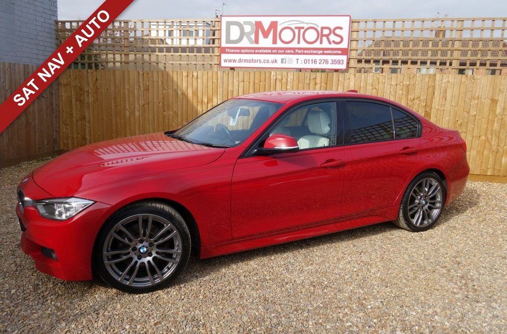 USED 2013 13 BMW 3 SERIES 2.0 325D M SPORT 4d 215 BHP *** 6 MONTHS NATIONWIDE GOLD WARRANTY ***