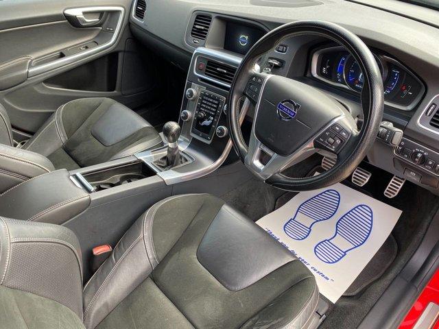 USED 2014 64 VOLVO S60 1.6 T3 R-DESIGN NAV 4d 148 BHP SAT NAV