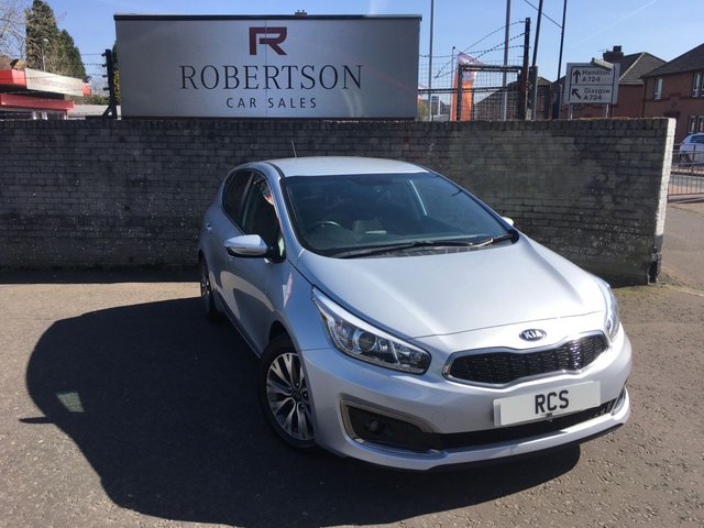 USED 2015 65 KIA CEED 1.6 CRDI 3 ISG 5dr AUTOMATIC FULL SERVICE HISTORY - HIGH SPEC