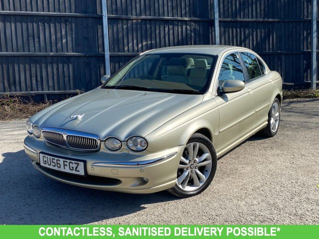 USED 2006 56 JAGUAR X-TYPE 2.5 V6 SE 4d 195 BHP MANY EXTRAS- AUTOMATIC LOW MILEAGE FINANCE ME TODAY-PX  UK DELIVERY POSSIBLE