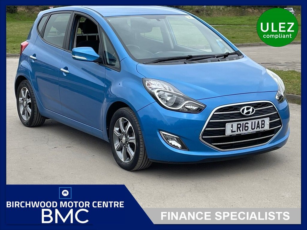 USED 2016 16 HYUNDAI IX20 1.4 SE BLUE DRIVE 5d 89 BHP. SERVICE HISTORY!!! HYUNDAI WARRANTY AVAILABLE!!!