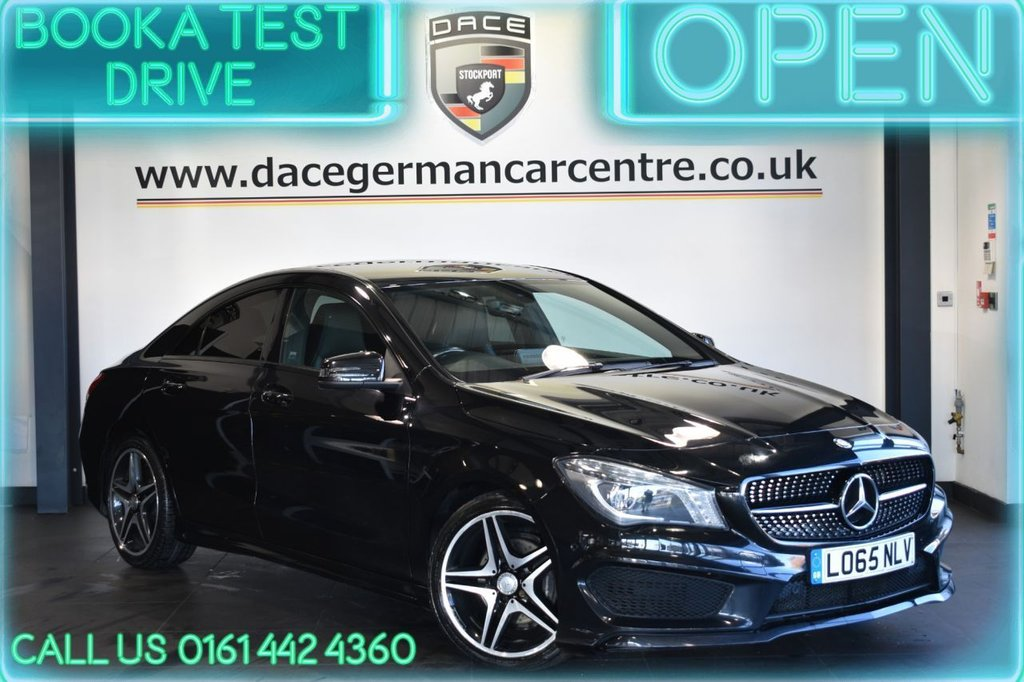 USED 2015 65 MERCEDES-BENZ CLA 2.1 CLA 200 D AMG LINE 4DR 134 BHP