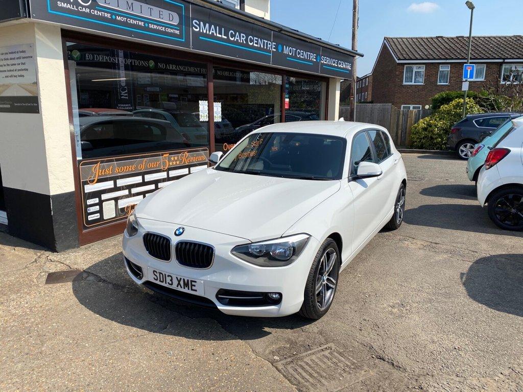 USED 2013 13 BMW 1 SERIES 1.6 116I SPORT 5d 135 BHP BLUETOOTH - DAB - USB - AUX - AIRCON - AUTO LIGHTS
