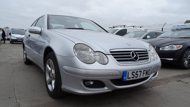 USED 2007 57 MERCEDES-BENZ C-CLASS 2.1 C200 CDI SE SPORTS 3d 121 BHP 1 OWNER