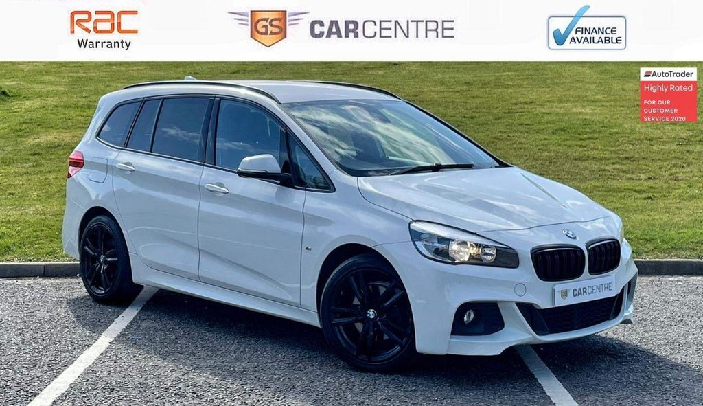 USED 2016 66 BMW 2 SERIES 2.0 218d M Sport Gran Tourer (s/s) 5dr £30 Tax | Sat Nav | Leather